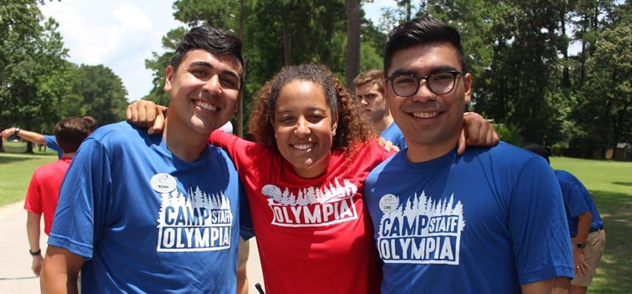 Camp Olympia counselors