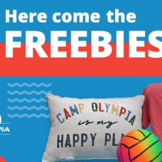 Picture of summer freebies available from Camp O 2021.