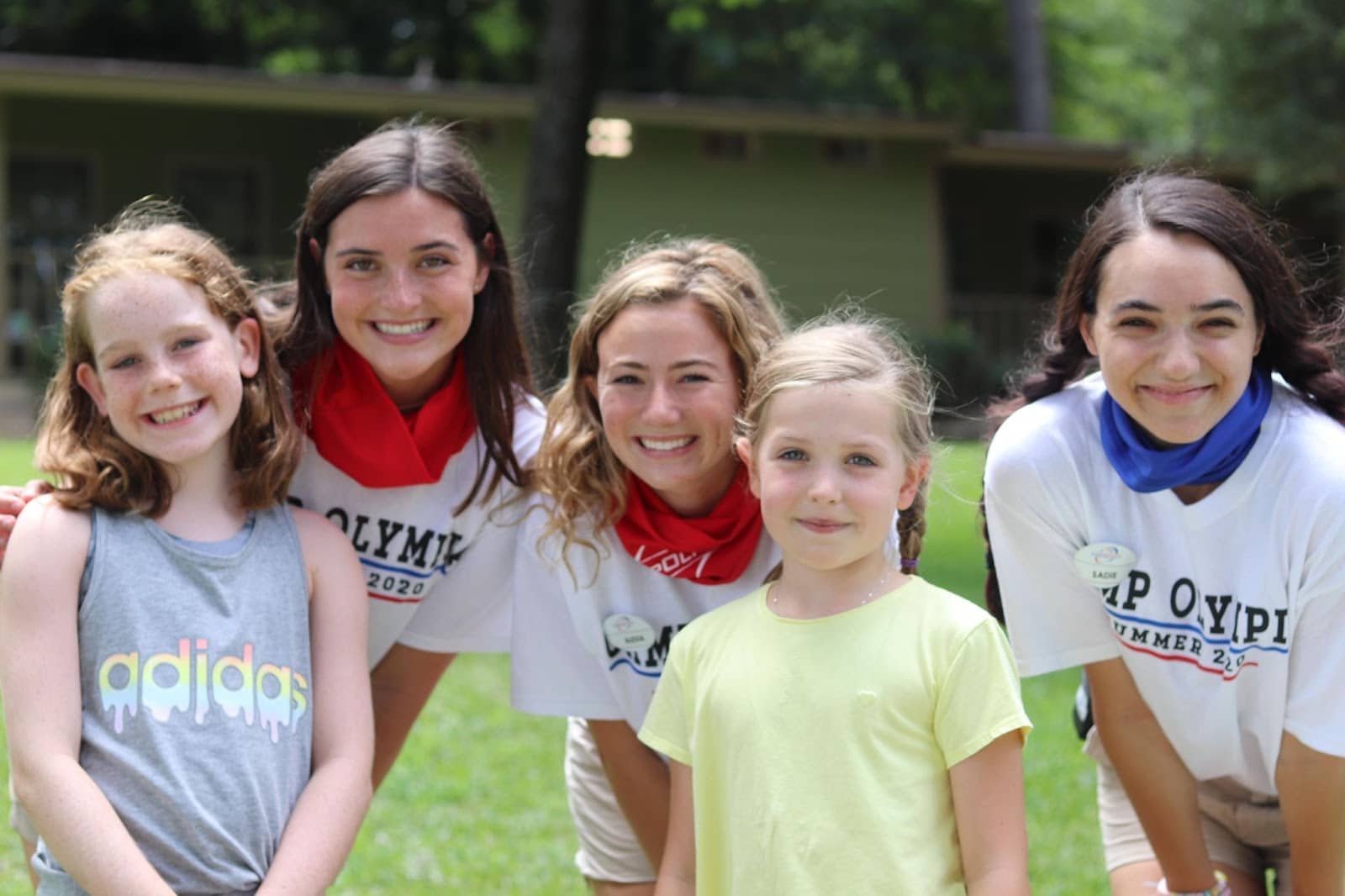 Campers and counselors at Term 2, 2020.